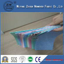 China Tela não tecida por atacado da tela do poliéster de Spunlace da tela não tecida da tela não tecida laminada