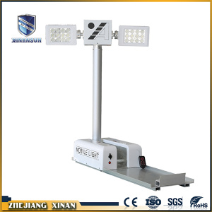 LED mobile extension-type vehicle-mounted light tower