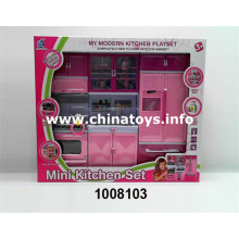 Hot Selling Play Kitchen Set with Light&Music (1008103)