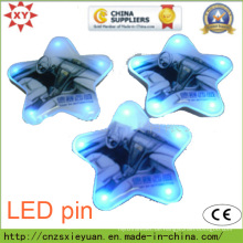 Whotsale Custom Star Plasitc LED Pin