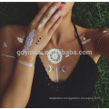 Wholesale Safety Customized Golden Flash Metallic Tattoo
