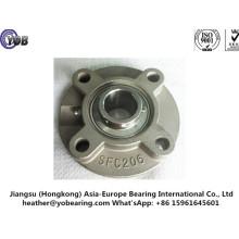 Caixa de rolamento de aço inoxidável da unidade de flange redonda