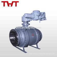 válvula de bola resistente a los ácidos de descarga de hierro fundido