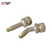 L 17 4 8 encaixe de tubulação de compressão montagem de compressão de ferro fundido encaixe de tubulação de compressão de água