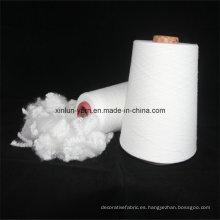 100% virgen T / C hilado de algodón de poliéster mezclado