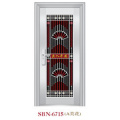 Puerta de acero inoxidable para exteriores (SBN-6715)