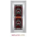 Porta de aço inoxidável para a luz do sol exterior (SBN-6715)