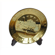 Souvenir use good quality dubai souvenir metal plate