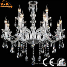 AC95-265V Chandelier Candle Shape Luxury Crystal Lamp