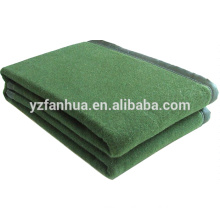 Olive green 100 Fiber Hotel and Military used blankets