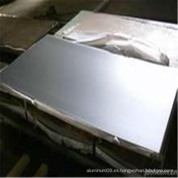 5005 hoja de aluminio anodizado negro
