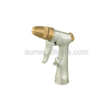 Deluxe adjustable metal spray gun