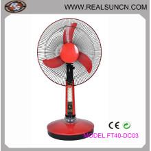 """16"""" DC Fan Rechargeable Table Fan, Solar Fan"""