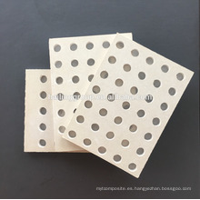 Panel insonorizado / panel de yeso perforado