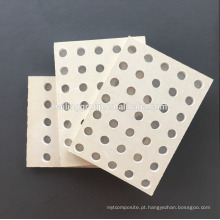 Painel de isolamento acústico / placa de gesso perfurada