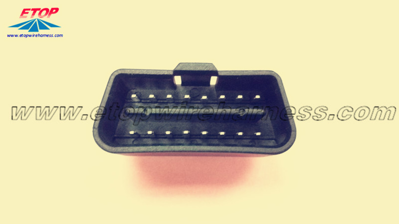 16-pins OBD-connector
