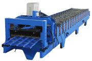 2015 Canton Fair 840 kaca logam lembaran menggulung Mesin membentuk