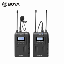 BOYA BY-WM8 K1 Dual Channel Wireless Lavalier Collar Mic Microphone for Camera