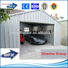 easy install prefab steel structure shed design carport
