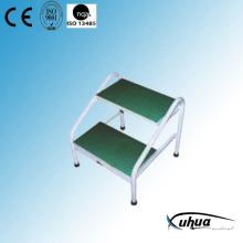 Epoxy Coated Steel Double Steps Footstool (Y-12)