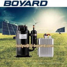 Alta calidad r134a 72V horizontal 10000BTU dc 12v compresor de la refrigeración con sistema de precio de fábrica