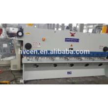 qc11y-12*3200 hydraulic guillotine shear/plate hydraulic guillotine shearing machine