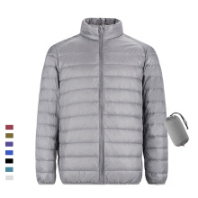 Wholesale new style duck down lightweight men's slim warm down jacket for autumn and winter