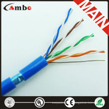 Conductor de cobre 4 pares impermeables cat5e ftp cable