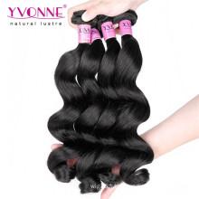 Top qualité vague lâche péruvienne vierge remy cheveux