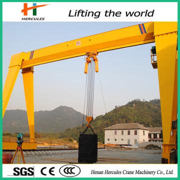 Grues de levage chaîne 16 tonnes grue portique de faisceau