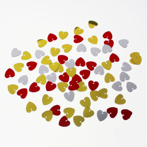 Kleurrijke Heart Shaped Loose Sequins