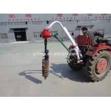 Excavatrice de trou de poteau de tracteur de point de 3 points