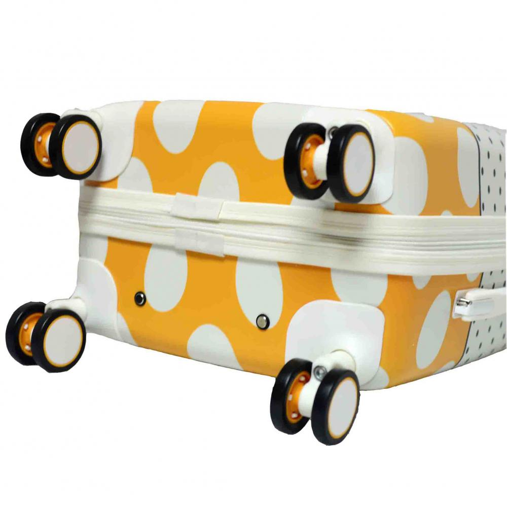Cute Color PC Luggage Set with 8 Wheels