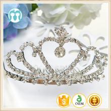 Neue Großhandelskinderlegierungs-Kronen-Mädchen-Hochzeits-Partei-Baby-einteilige Kinderhaar-Abnutzung für Dekoration