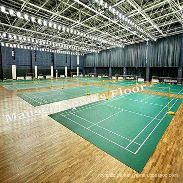 PVC Bodenbelag für Badminton Gericht