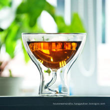 Fancy Borosilicate Double Wall Glass
