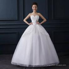 LSO014 sweetheart com padrão de flores vestidos de noiva baratos vestidos imagens cascata