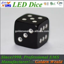 Red Green Blue LED lighting MCU control colorful LED dice