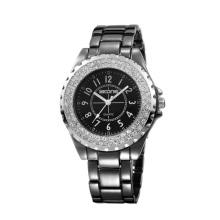 SKONE 7216 Fashion couple Alloy Case quartz movt watch With Rotating Bezel