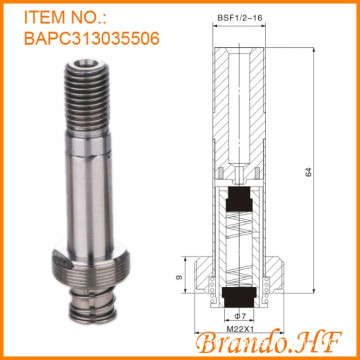 13mm Tube diamètre solénoïde Armature Tube