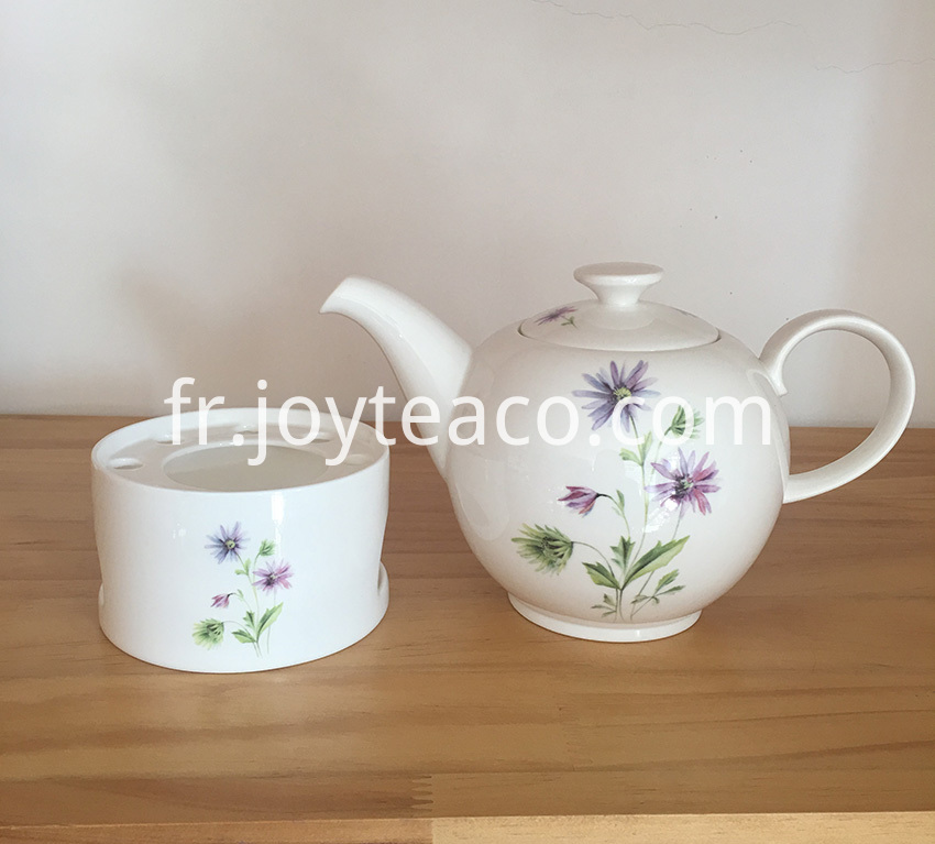 Ceramic Teapot With Tealight Holder