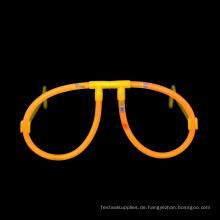 orange Leuchtstab Gläser