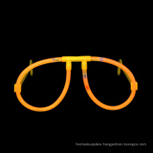 orange Glow Stick Glasses