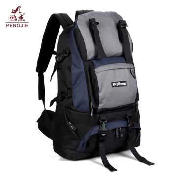 Outdoor Hiking Bag Waterproof Nylon Sky Travel Backpack