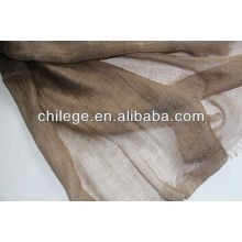 200er Ring Kaschmir Natur Farbe Schal