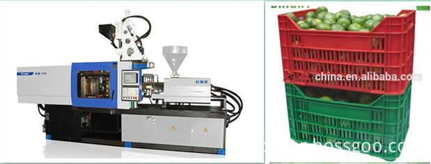 plastic fruit box injection machine