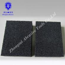 100 * 70 * 25mm à faible densité d'oxyde d'aluminium ponçage bloc éponge grain P60