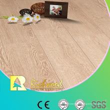 Plancher de Lamiante de 12.3mm gaufré ciré de chêne laminé par chêne