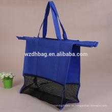 Fabrik-Versorgungsmaterial-nicht gesponnener Einkaufswagen-Laufkatzen-Beutel 4pcs ein Satz verpacken