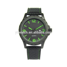 Mens Analog Quartz Watch Leather Band On Clearance Alloy Dress Wrist Watch Gift Watches